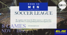 Over 30 Men's Soccer League #1