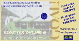 GOAL! @ Elite Indoor Sports