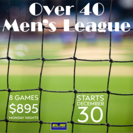 Over 40 Men's Soccer League #2