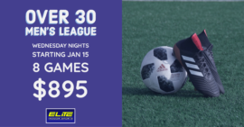 Over 30 Men's League Session 2 @ Elite Indoor Sports