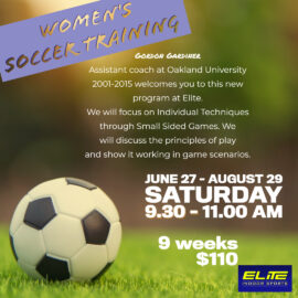 Adult Women's Soccer Training
